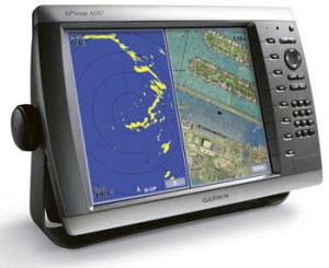 Garmin 4212 or Raymarine E120 • Towboat US San Diego
