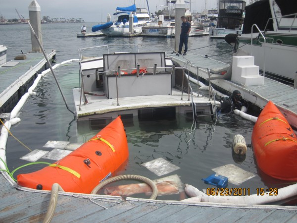 Towboatus San Diego Raises Another Wooden Boat Headed For The Land